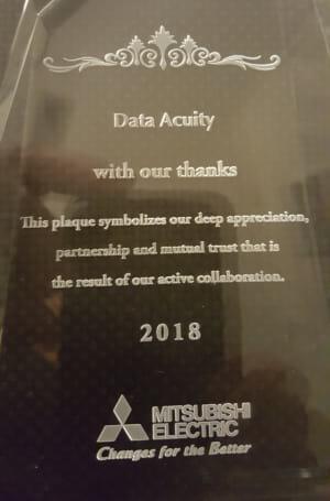 Data Acuity Plaque